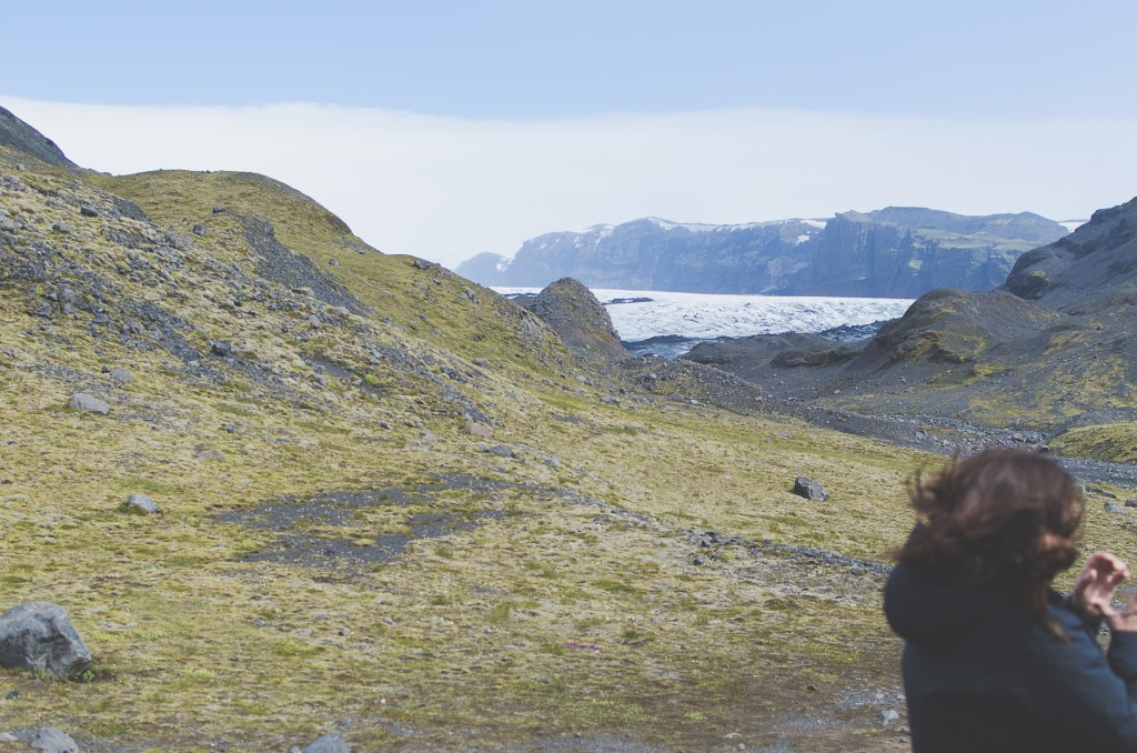 In Iceland, shortly before I bought my red woolen slippers